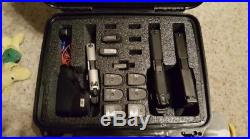 Case Club Waterproof 4 Pistol Case with Silica Gel 4Gun 12 Magazines Pad Locked