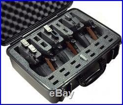 Case Club Waterproof 6 Pistol with Silica Gel to Help Prevent Gun Rust