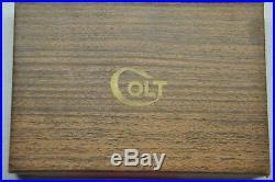 Colt #108 Series 70 Government Model 2 pc box wood grain box blank