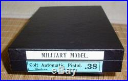 Colt 1902 Military. 38ACP Box 1902-1930's Box Vintage Colt