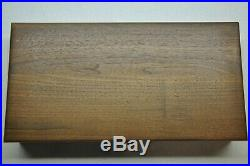 Colt #247 Diamondback 6 inch Factory Wood Presentation Case