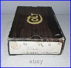 Colt 45 Model 04612 Combat Commander Pistol Box With Syrofoam Insert