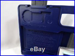 Colt Gun Blue Case withRegistration Papers Handgun Safety Large
