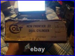 Colt New Frontier 22 Dual Cylinder Box