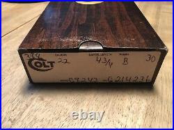 Colt New Frontier Scout 22 Box John Wayne