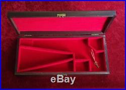 Colt Percussion Revolver Wood Case Box 1851 Navy 1861 1862 SAA Uberti Pietta