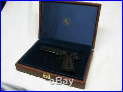 Colt Pistol Case 1911-a1 Fitted Presentation Display Hard Case Museum Quality