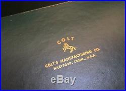 Colt Python 1955 & Pre Python 3-5-7 Box & Paperwork 4 or 6 INCH