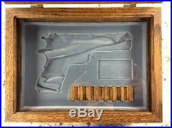 Colt Rheims Commemorative 1911 Wood Presentation Box Government Pistol WWII