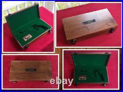 Colt Ruger Uberti Pietta Single Action Revolver SAA Wood Presentation Case Box
