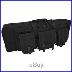 Condor 151 Black 36 External Utility Pocket Double Rifle/Shotgun Carry Case