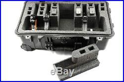 Convertible 4 / 6 pistol handgun foam insert fits your Apache 5800 case +bonus