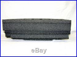 Custom 5 pistol handgun foam insert kit fits your Pelican 1510 case +nameplate