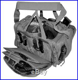 Deluxe BLACK Field Range Bag 18 Inch Bag Handgun Pistol Firearm Ammo Case