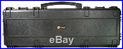 Elephant E400 44 Hard Waterproof Rifle case With Wheels for Hunting Travel TSA