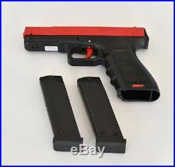 FREE CASE with SIRT 110 Training Pistol Handgun Plastic Slide RED Dry fire Laser