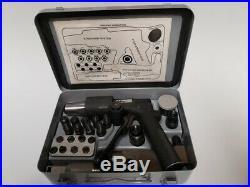 FSI Riveter Fastener D-700A MIL-2 Hydraulic Blind Rivet Hand Gun Kit with Case