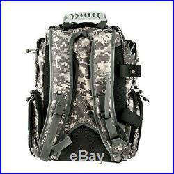 G. P. S. Handgunner Backpack ACU DIGI Shooting Range Bag Pistol Travel Case