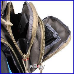 G. P. S. Handgunner Backpack OD GREEN Shooting Range Bag Pistol Travel Case