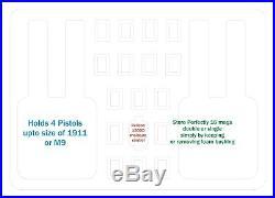 Genuine Green Pelican 1450 includes Quickdraw 4 pistol handgun gun case +name