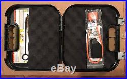 Glock Gun Case With Lock, Rod, Brush, Manual 10 Cases