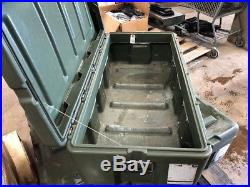 Green Hardigg Pelican Case Crush Proof Submergible 18x40x12 Storage Shipping Box