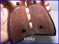 Grip Sig Sauer P226 Bottom Release Shiny Checkered Handmade by Real Frame P 226