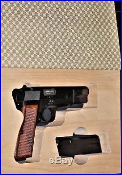 Gun Book for Browning hi-power pistol box cabinet safe display case