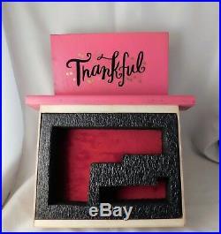 Gun Box, Pink Display Or Concealed Book Box