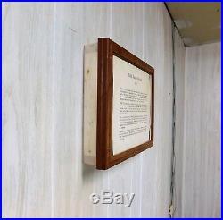 Gun Case Picture Frame, Gun Concealment Case, Wall Hanger