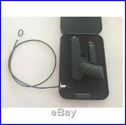 Gun Pistol Hard Case Security Hard Safe Hand Sidearm Police Service Storage Box