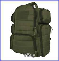 Gun Range Backpack Tactical Shooting Bag Pistol 1911 Handgun Firearm Carry Case
