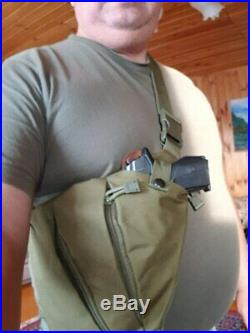 Gun Tactical Bag Holster Storage Case Pistol Hand Carry Shotgun Pouch holster