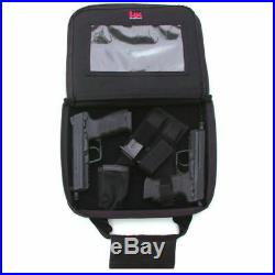 HECKLER & KOCH HK BLACK TACTICAL Double Pistol Case for USP P30 VP9 P7 HK45 MK23