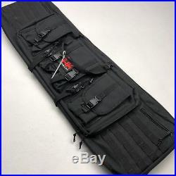 HECKLER & KOCH Soft Padded Tactical Long Gun Rifle Case Bag Black NWOT
