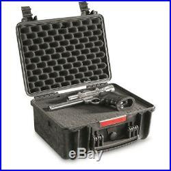 HQ ISSUE Handgun Carry Case Magazine Pistol Revolver Gun Waterproof Storage Box
