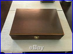 Hand Crafted Solid wood Storage boxes, gun case, display box Dark Cherry