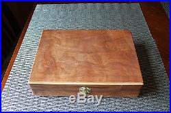 Hand Crafted Solid wood Storage boxes, gun case, display box Jewelry box