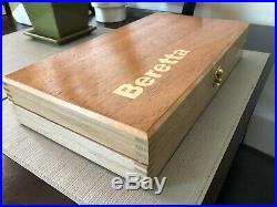 Hand Crafted Solid wood boxes, gun case, display box Beretta, Colt, Remington