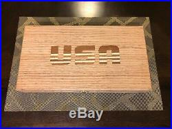 Hand Crafted USA Solid wood Storage boxes, gun case, display box Jewelry box