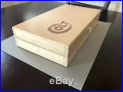 Hand Crafted light Colt Solid wood Storage boxes, gun case, display box