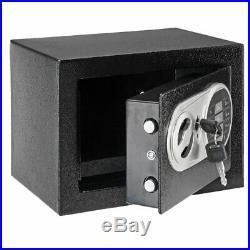 Hand Gun Pistol Safe Lock Box Security Electronic Lock Cash Storage Home Case