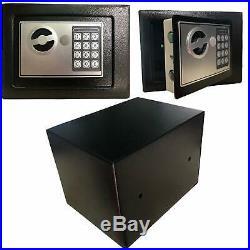 Hand Gun Pistol Safe Lock Box Security Electronic Lock Storage Cash Home Case