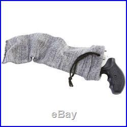 Hand Gun Sleeve 14 Silicone Treated Sock Pistol Soft Rug Case Storage Pouch Bag