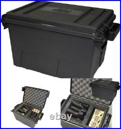 Handgun Tactical Case Large Pistol Carrying Case 4 Multiple Universal Hand Gun