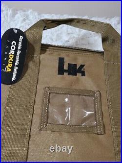 Heckler Koch Brown Soft Special Op TACTICAL SOCOM HK PISTOL CASE Mark23 HK45 VP9