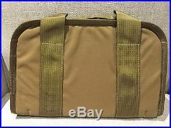 Heckler & Koch HK BROWN Padded Bag Gun Rug Case USP HK45 P30 P7 VP9 VP40 SP5K