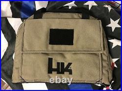 Heckler Koch HK GREEN Padded LARGE Pistol Gun Rug Bag Case USP HK45 P30 P7 VP9