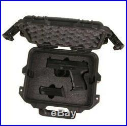 Heckler Koch HK Pelican Custom Foam Hard Gun Case Airline Travel P7 HK45 P30 VP9