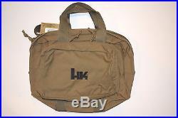 Heckler & Koch Hk Multi Purpose Range Bag/case Tan P30sk P7psp P7m8 Usp Vp9 Vp40